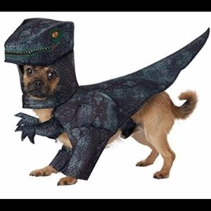 Dark Green_PUPASAURUS REX Dog Costume